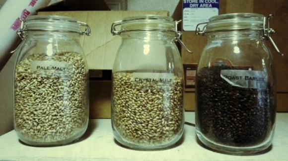brew malts jars