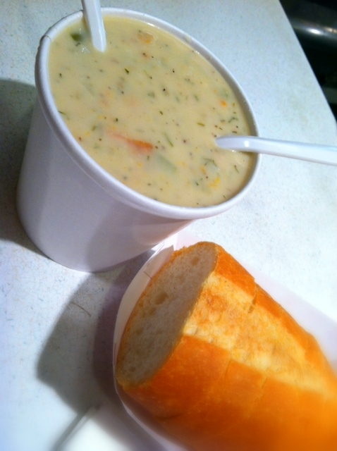 chowder at market grill