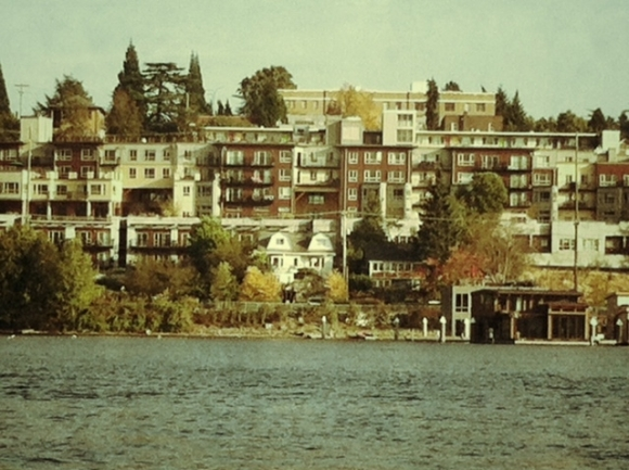 lake union houses
