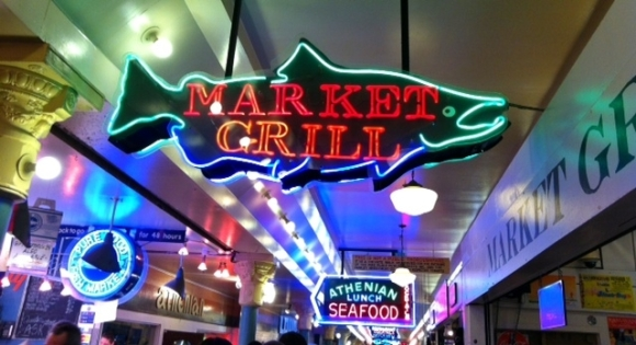 market grill sign
