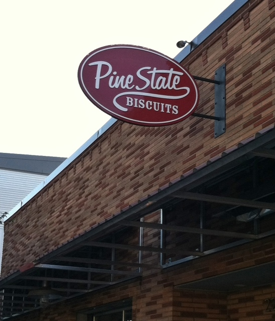 Pine State Sign