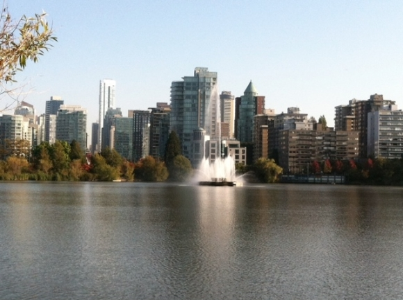 Stanley park city view