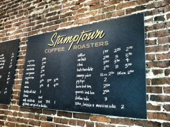 Stumptown Sign