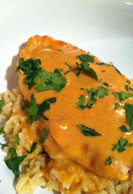 curry chicken alone