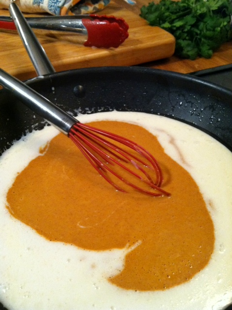 curry sauce pan