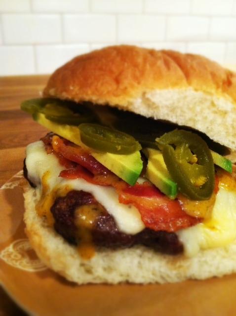 pancetta burgers